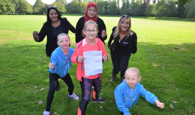 Caring Tipton girl teams up with council to stage fun run following social media search