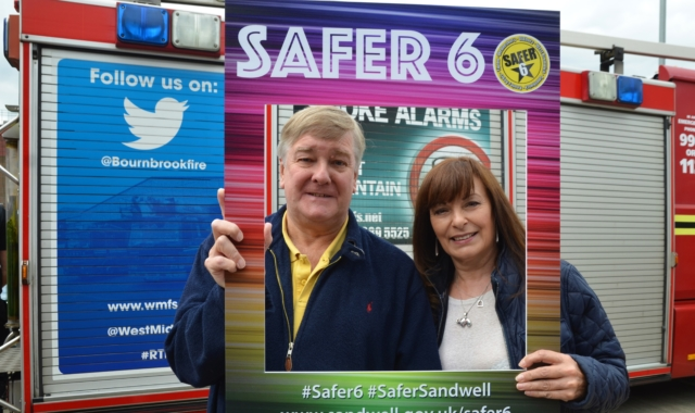 Safer 6 roadshows in Tipton and Smethwick