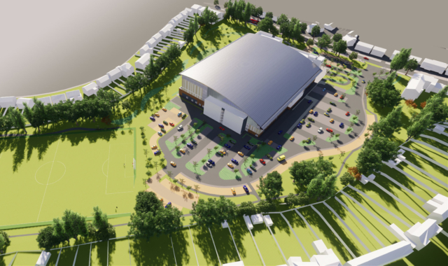 Get the latest update on construction of the new Sandwell Aquatics Centre
