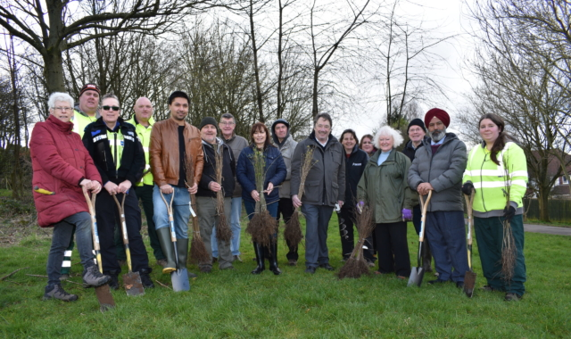 Thousands of trees being planted in Sandwell
